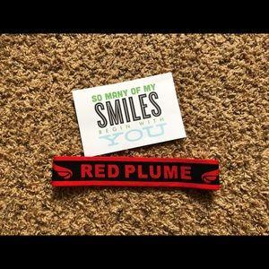 🌻Red Plume🌻NWT Red Plume Unisex Headband Elastic